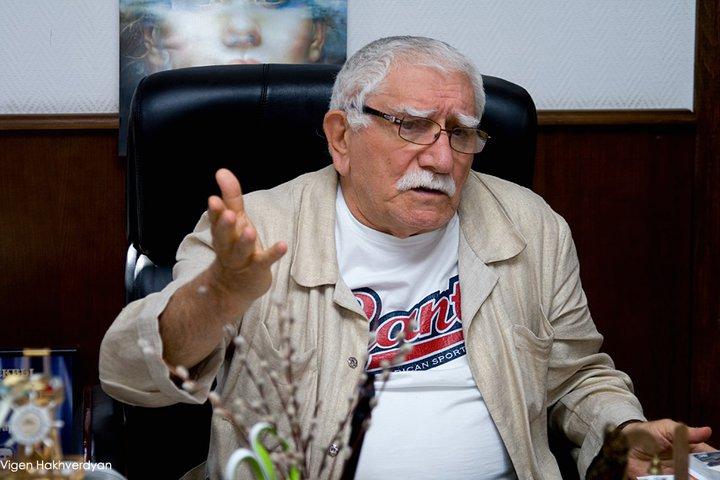 Народный артист СССР Армен Джигарханян.