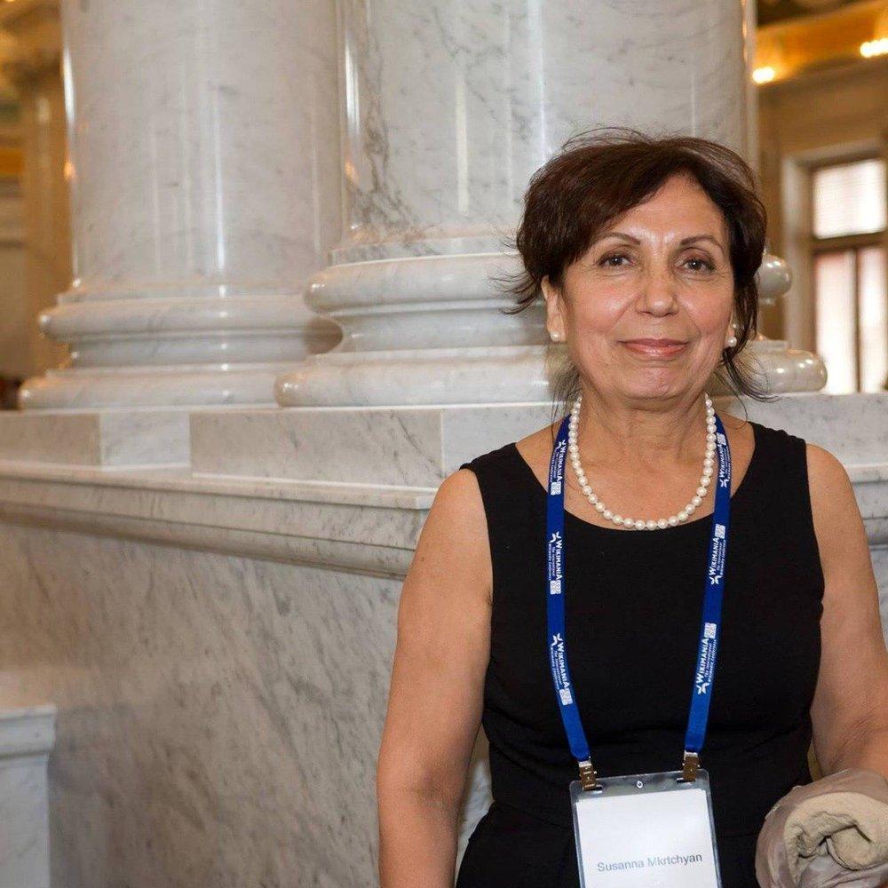 Сусанна Мкртчян —председатель образовательного Фонда «Викимедиа Армения», администратор Армянской Википедии