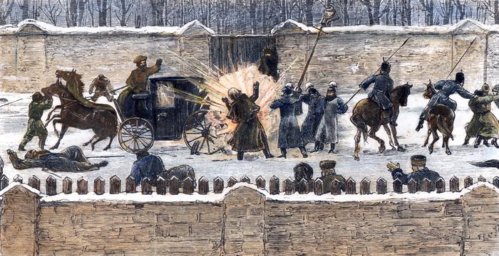 Убийство царя Александра II.chuchotezvous.ru