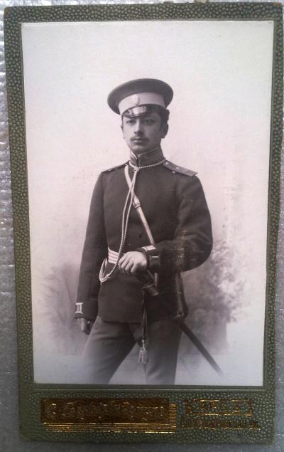 Николай Саркисович Асланянц -прапорщик 154-го Дербентского пехотного полкаВ полк пришел в 1909 году. На фото подпоручик 154-го пехотного Дербентского полка. Пожалован за отличия в делах против неприятеля