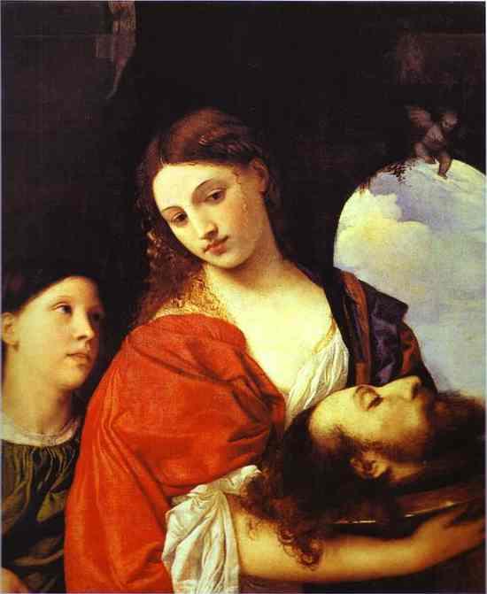 Тициан.«Саломея с головой Иоанна Крестителя»,1515