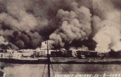 Пожар в Смирне, 14 сентября 1922 года