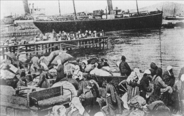 Беженцы из Смирны