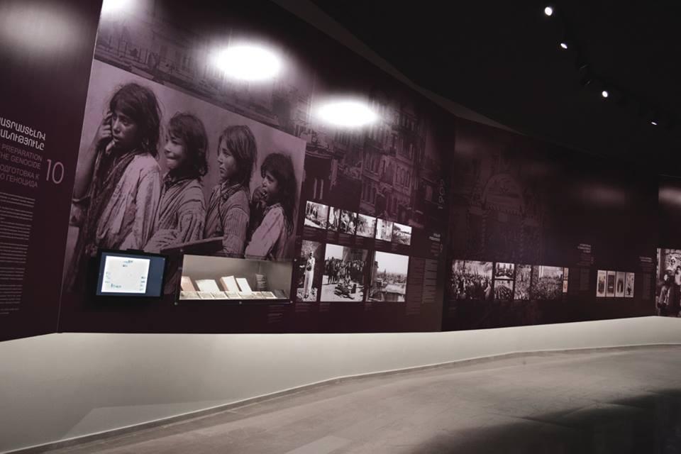 Экспозиция музея Геноцида армян в Ереване. фото Лусине Матевосян.