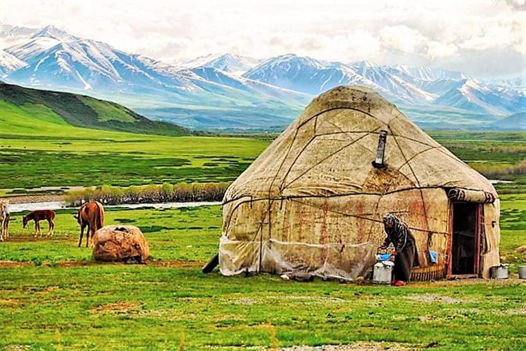 Пастбища на джайлоо в Киргизии. фотоskazproto.ru