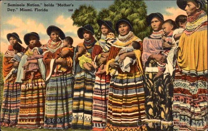 Семинолы - индейское племя, укоренившееся воФлориде, ныне также проживающее на территории Оклахомы. фотоpasadenaadjacent.files.wordpress.com
