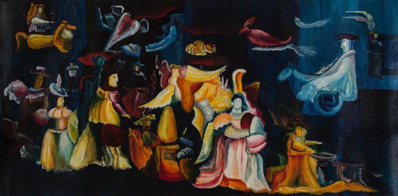 Гаянэ Хачатрян. Зеркало. 2000