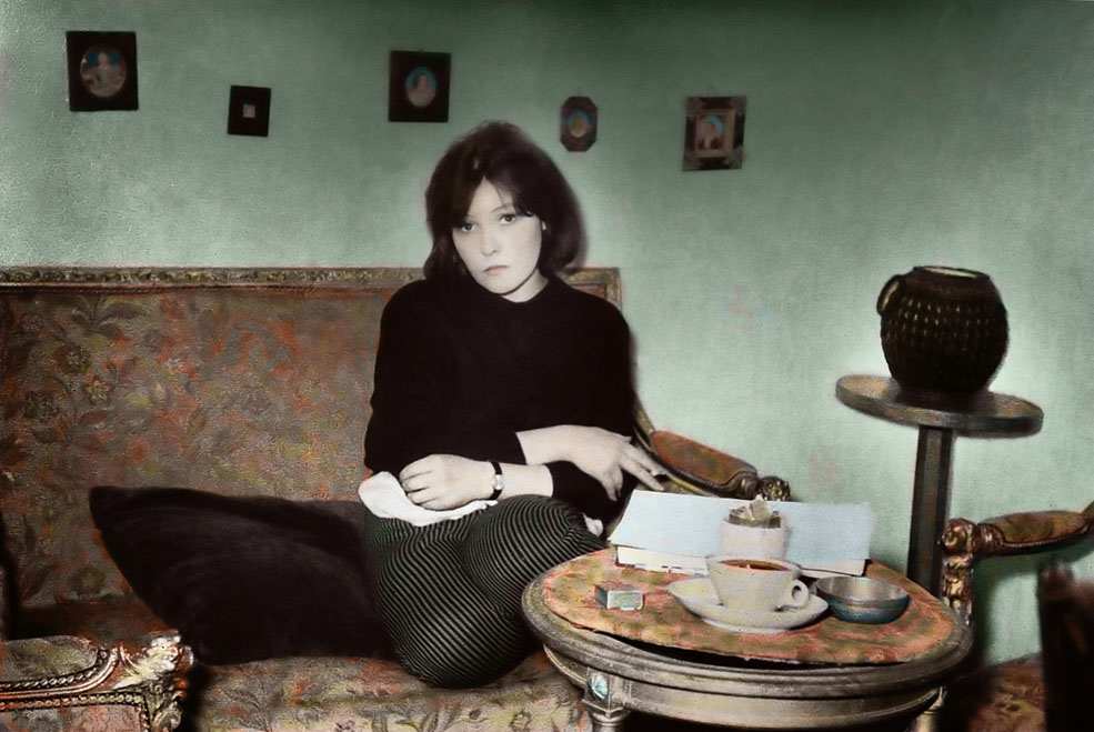 """""""Исаакян - это мой поэт. Я его чувствую всей своей сущностью. И я бы хотела его переводить еще больше. Мне есть что сказать"""" фото mg-2007-10.photosight.ru"""
