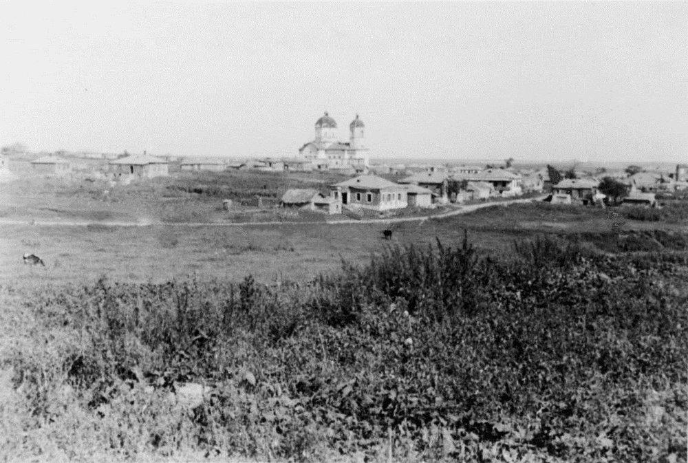 Вид на село Большие Салы