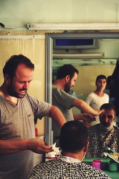 Парикмамахерская в Стамбуле