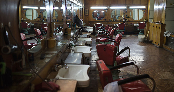Старейшая парикмахерская в Гюмри. Фото armeniasputnik.am