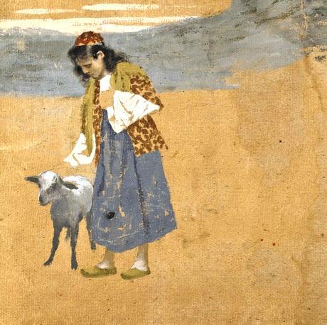 Вардгес Суренянц. Иллюстрация к сказке «Братец-барашек»