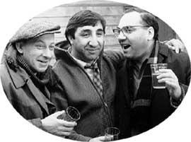 Евгений Евстигнеев,;Фрунзик Мкртчян и Георгий Тер-Ованесов. 1968 год