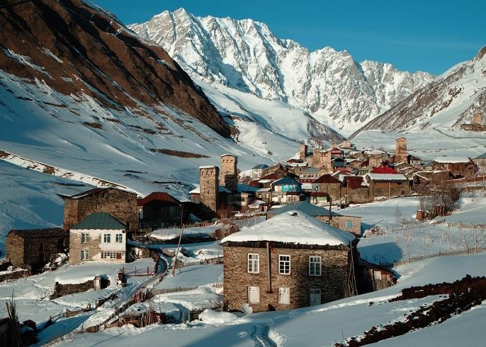 Зимняя Сванетия -еще одно райское место на земле. Фотоhttp://reki-gory.ru