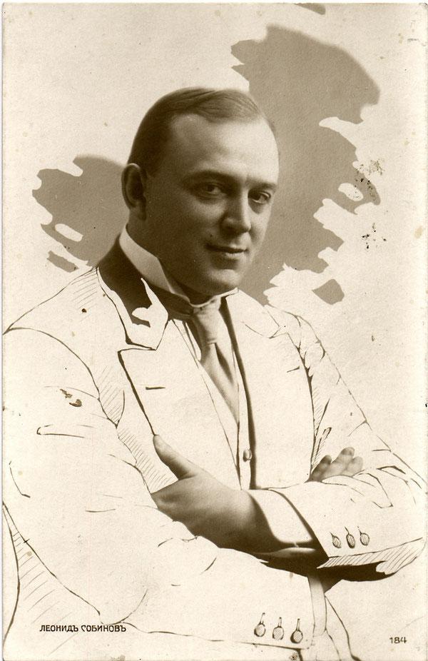 Один из крупнейших представителей русской классической вокальной школы Леонид Витальевич Собинов (1872-1934)