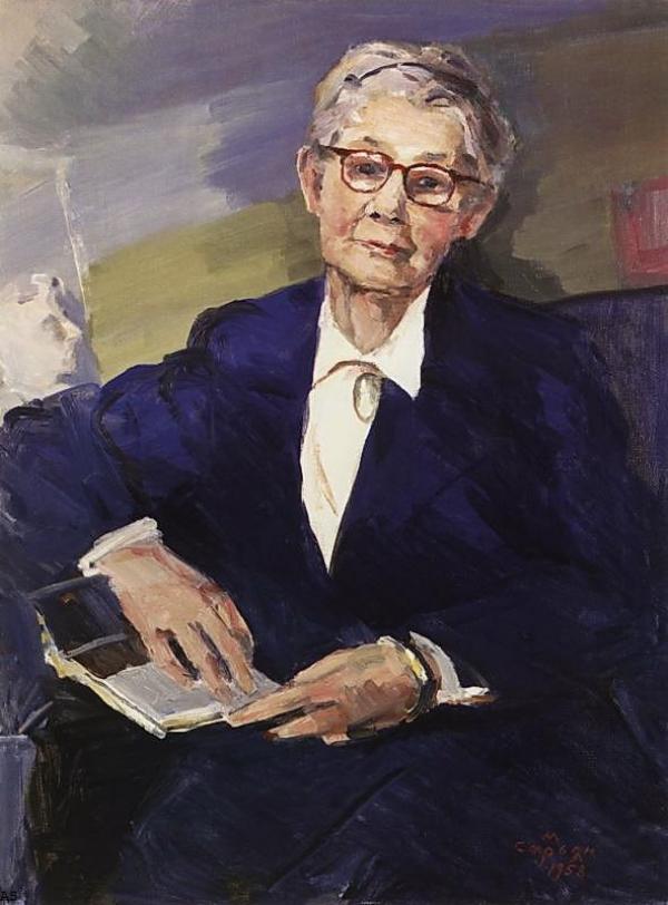Мартирос Сарьян.Портрет искусствоведа Лидии Дурново,1958