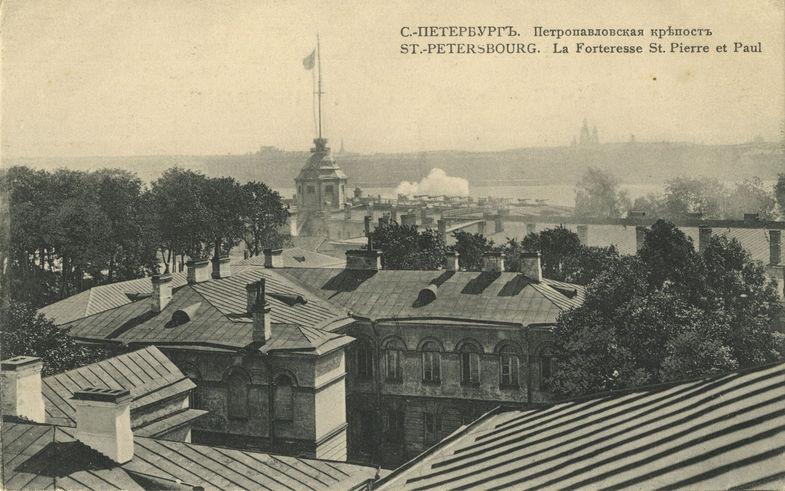 Петропавловская крепость в 1912-ом. Фото photo.qip.ru