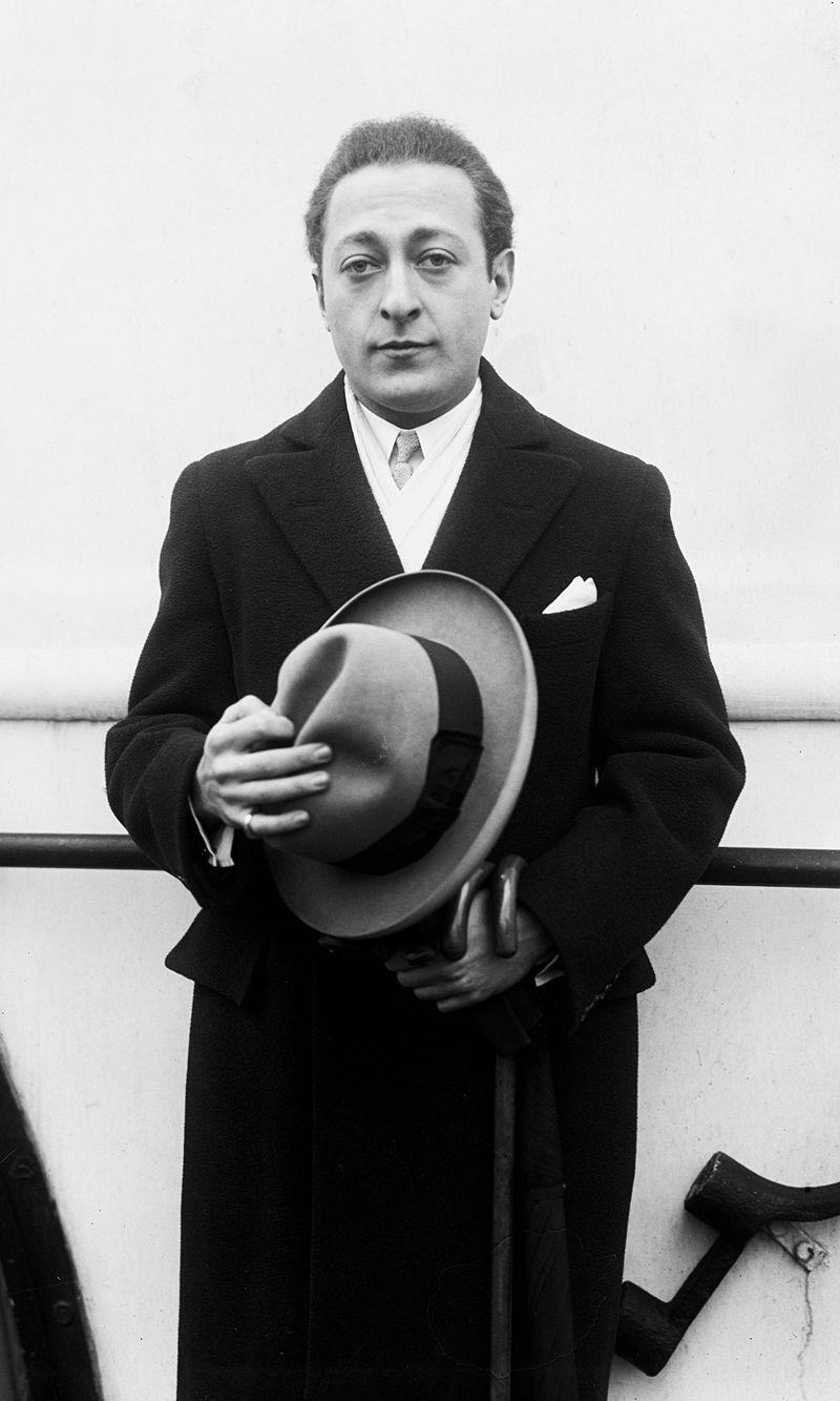 Яша Хейфец,1956 года.Фото Юсуфа Карша