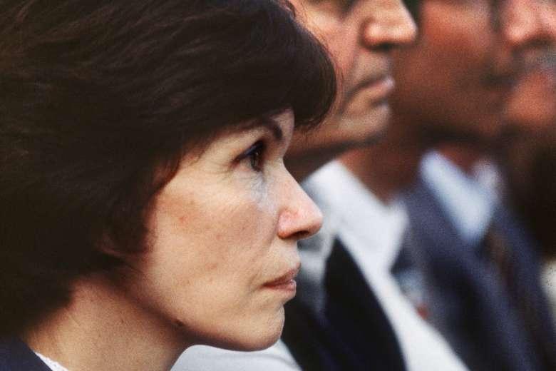 Супруга президента Французской Республики Даниэль Миттеран. Фотоstraitstimes.com
