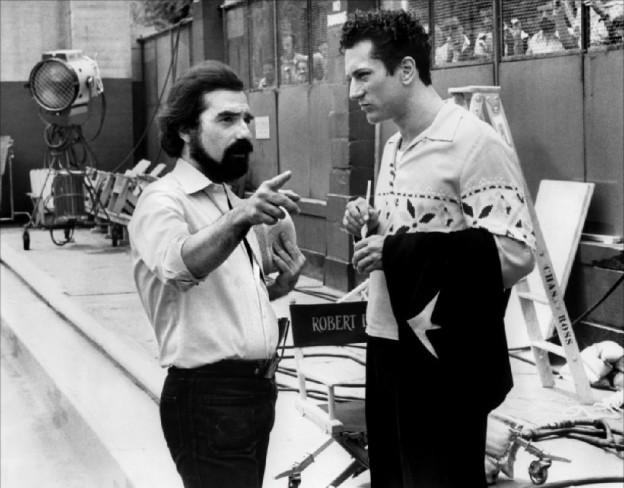 Мартин Скорсезе и Роберт Де Ниро на съемках фильма «Бешеный бык» ǁ imdb.com
