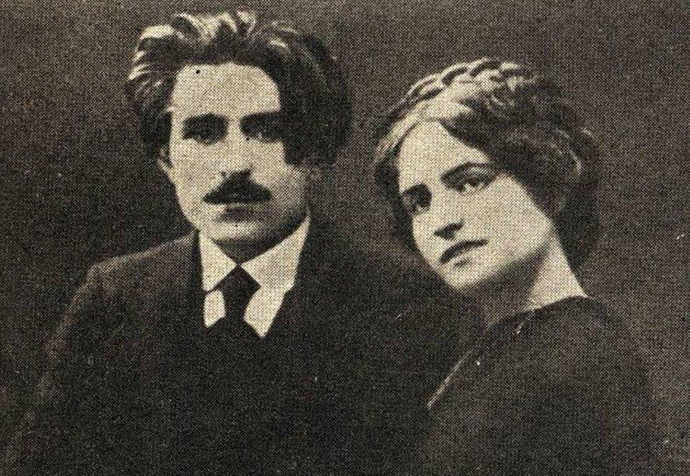 Ваан Терьян с первой женой Сусанной Пахаловой