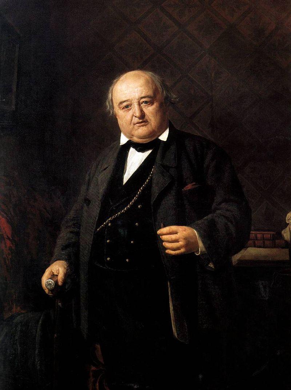 Н.В.Неврев.ПортретМихаила Щепкина,1862