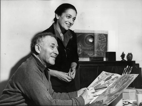 Марк Шагал и Вава