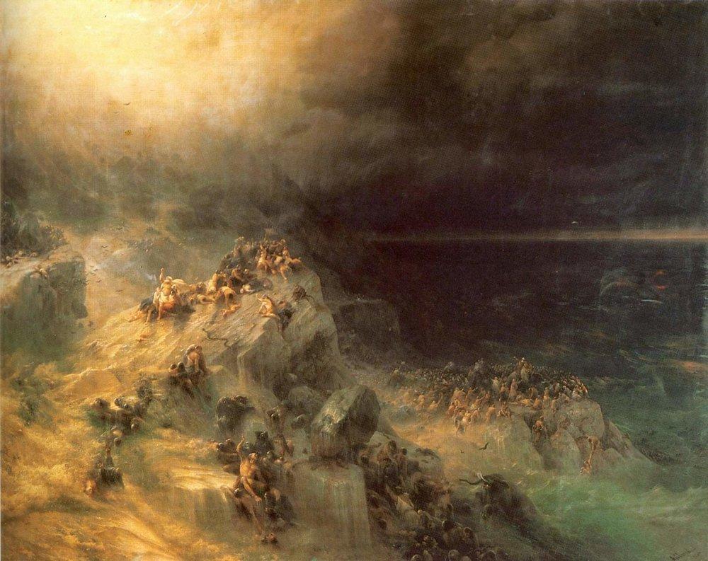 Легенда о Всемирном Потопе в картине Ивана Айвазовского