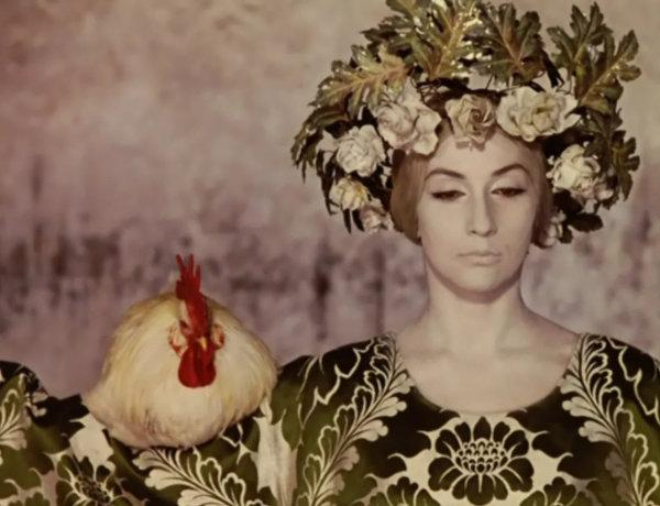"""""""Цвет граната"""" (1968) - здесь Параджанов создает почти гипнотическое действо"""