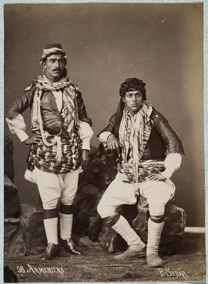 Паскаль Себа.Армянские мужчины, 1875 год.Лос-Анджелес, Центр Гетти