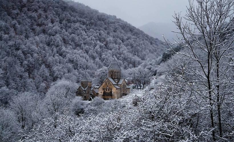 Дилижан зимой. Фотоtravelask.ru