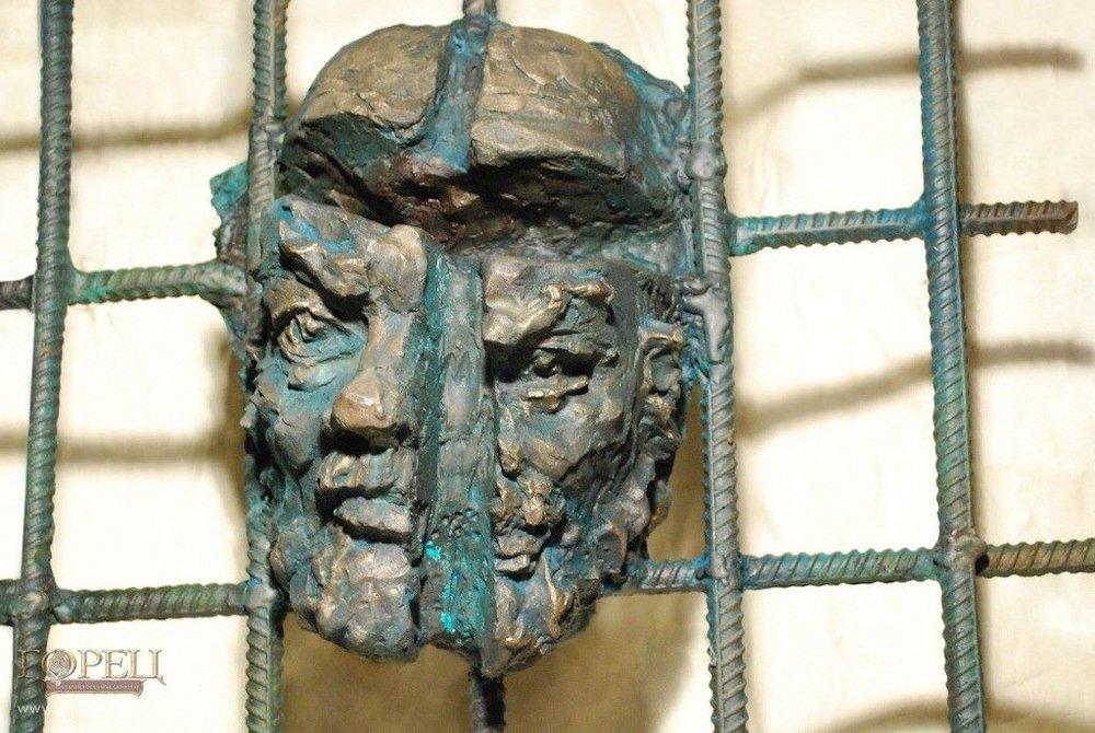 Скульптурный портрет Сергея Параджанова