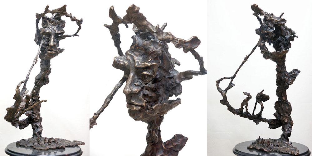 Скульптурный портрет Арама Хачатуряна. Автор - Григорий Потоцкий