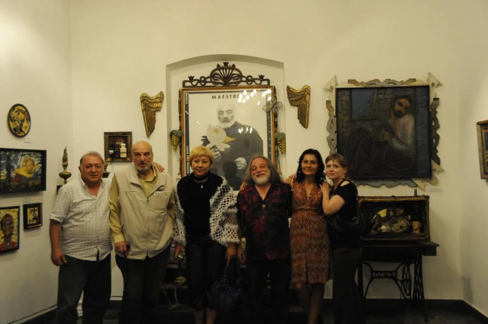 В сентябре 2010 года Григорий Потоцкий и Алексей Петренко посетили музей С.И. Параджанова
