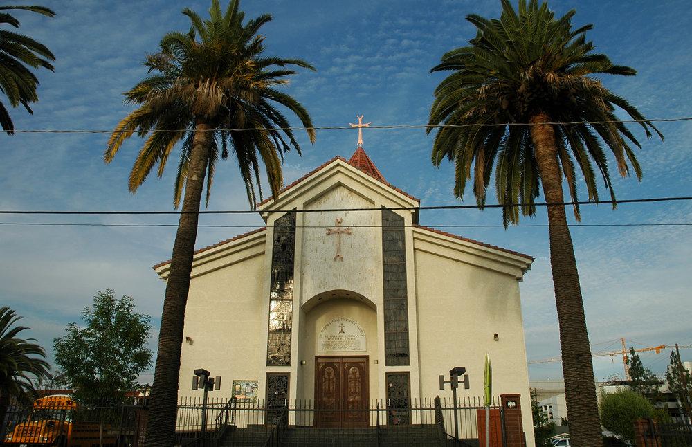 Церковь СурбКарапет вМаленькойАрмении (Голливуд, Лос-Анджелес, штат Калифорния