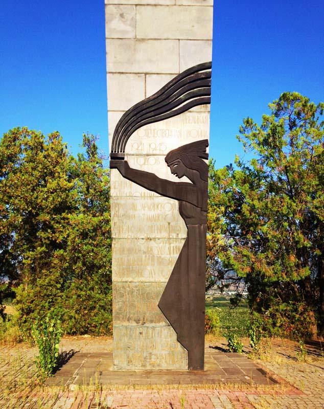 Монумент, посвященный бойцам Таманской дивизии. Фотос сайта создателя, скульптора Ара Арутюнянаaraharutyunyan.com