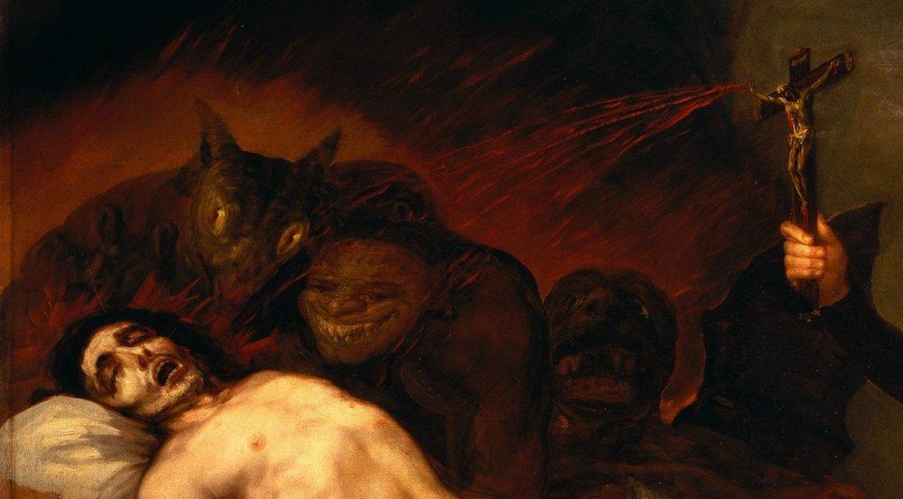 Русский писатель и испанский живописец вновь открыли поистине ядерные силы человеческой души, взорвали их, и взрыв этот оказался такой силы, что он может потрясти человечество и сегодня. (Юрий Карякин)