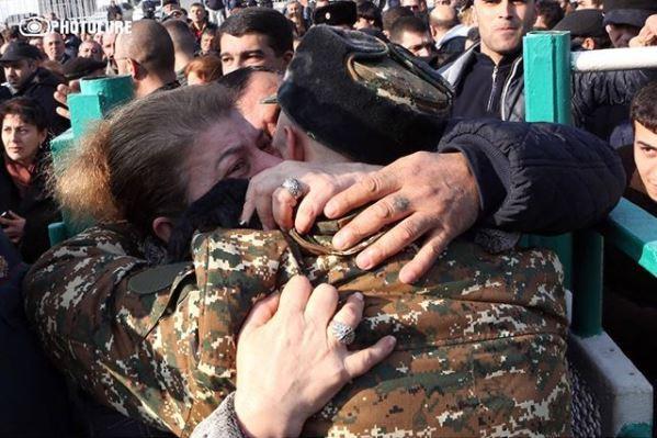 Первый призыв в Армении 8 января 2018 года.Фото: photolure
