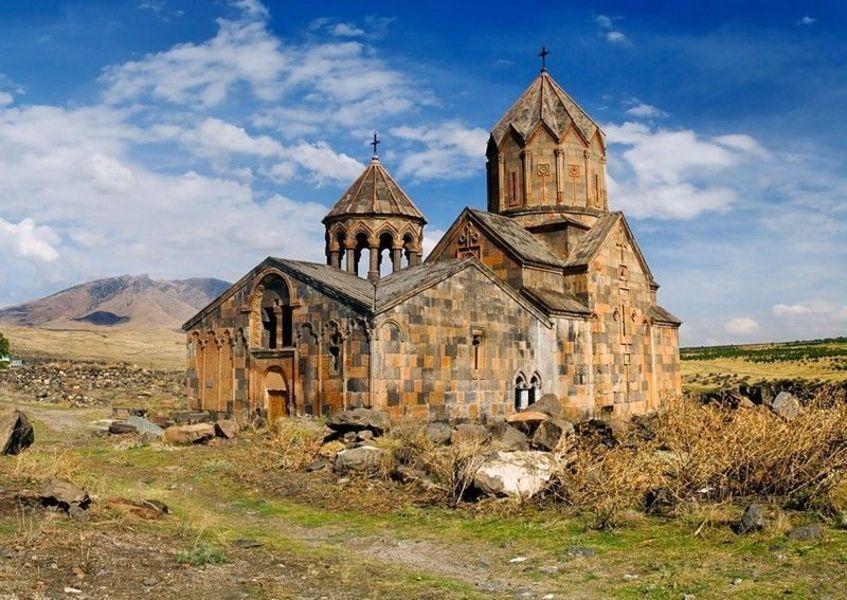 МонастырьОванаванк в селе ОванаванАрагацотнской областиАрмении