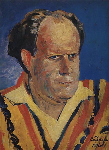 Мартирос Сарьян.Портрет кинорежиссера Сергея Эйзенштейна,1940