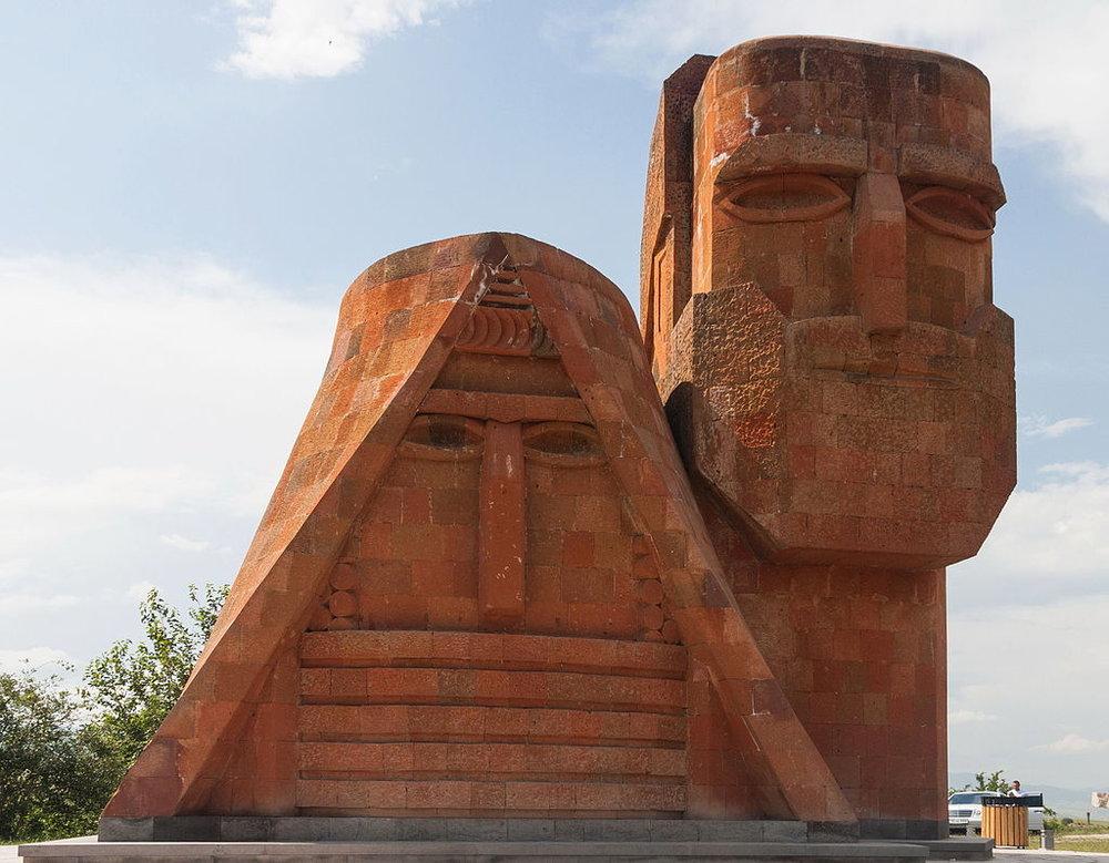 2014_Stepanakert,_Monument_My_i_Nasze_Góry_(02).jpg