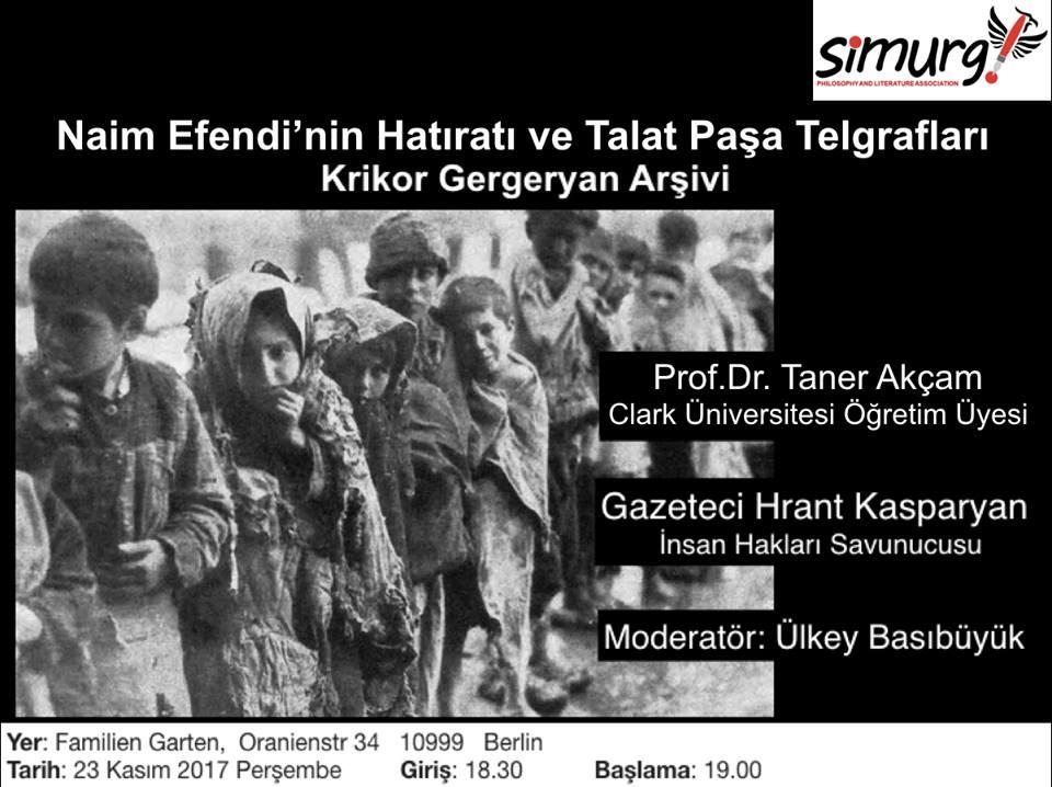Доктор Танер Акчам читает лекции о Геноциде армян в Османской империи по всему миру