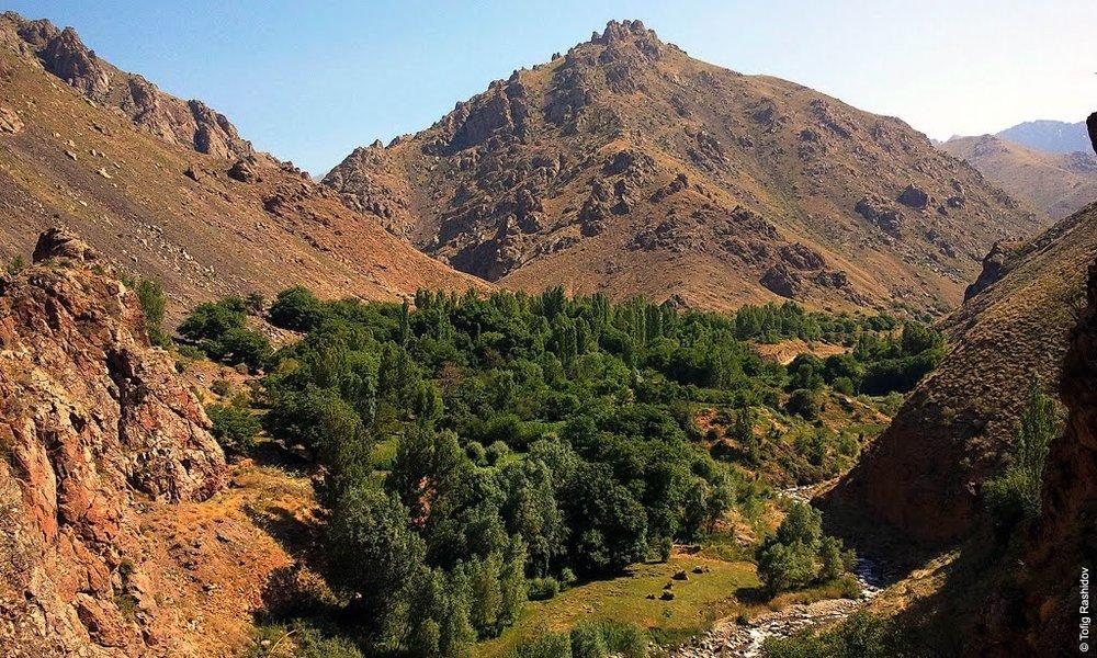 Горный пейзаж в Ордубадском районе. Фотоstatic.panoramio.com.storage.googleapis.com