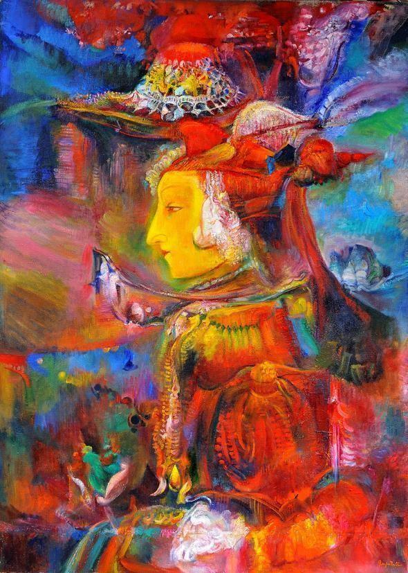 Бабушка художницы Гаянэ Хачатурян происходила из зокского рода.«Королева Зепет» Автопортрет Гаянэ Хачатурян из коллекции Валерия Ханукаева