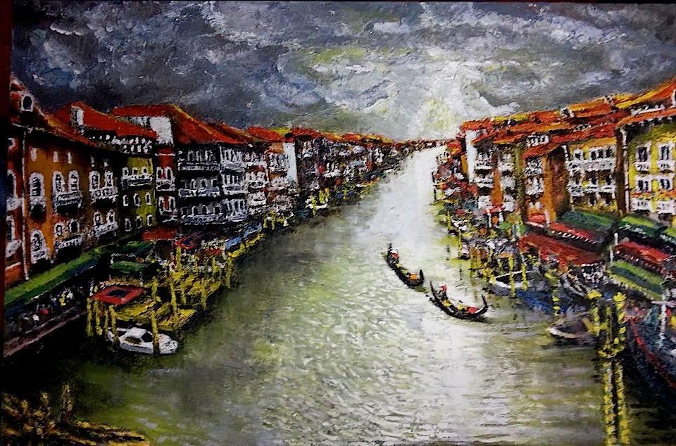 Вот такие картины к Италии с любовью писал раньше Аркадий Севумян