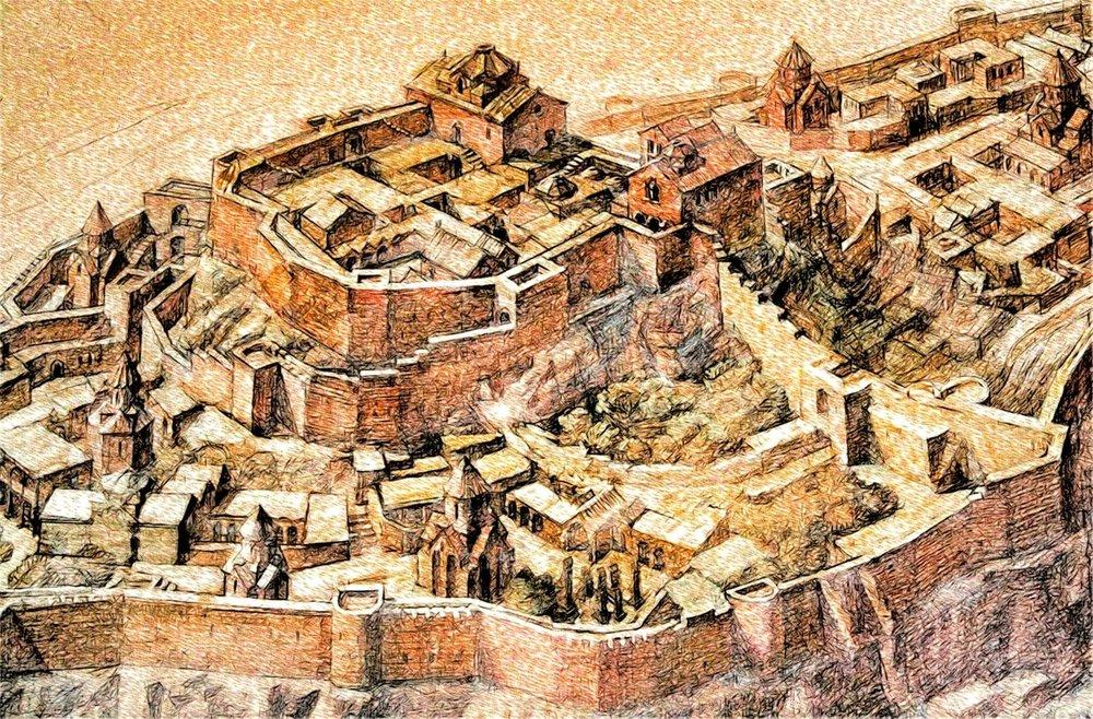 Родина историка Самуела АнециАни был в один из самых больших городов мира своего времени.