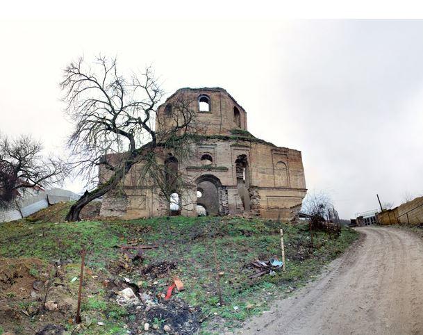 Церковь села Кильвар Дивичинского района, Азербайджан