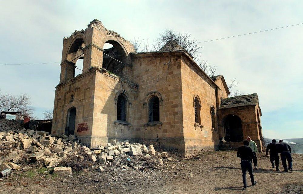 Армянская церковь, село Матраса Шемахинского района