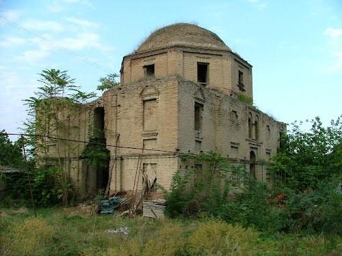 Армянская церковь села Хачмас, Азербайджан
