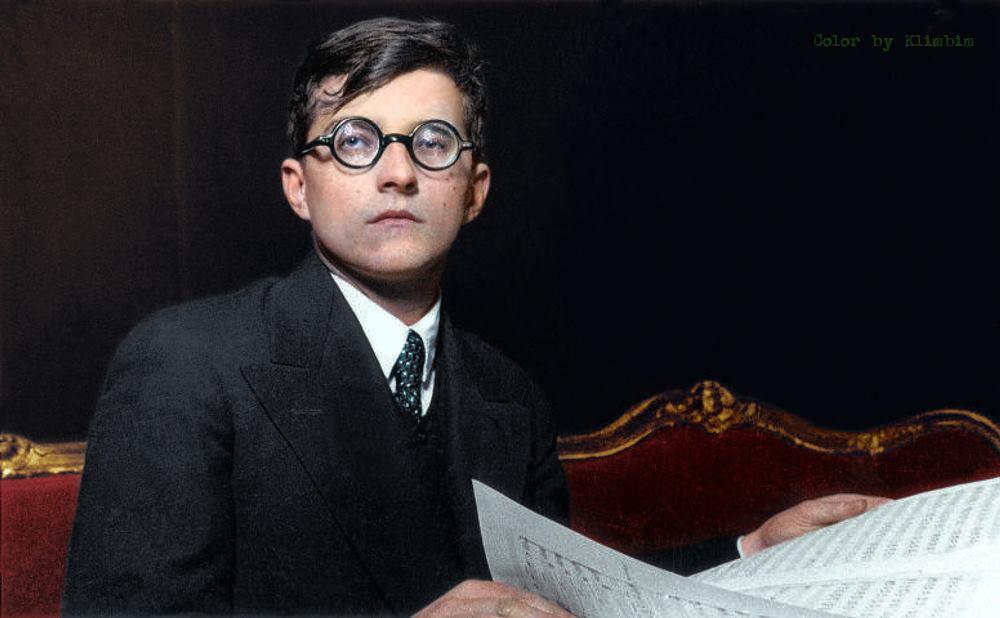 Дмитрий Дмитриевич Шостакович. Фотоmgorskikh.com